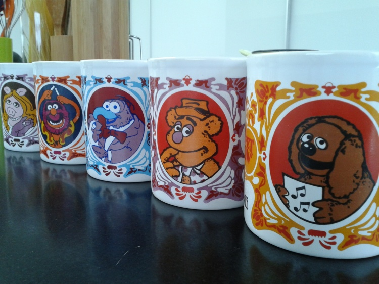 muppet show mugs
